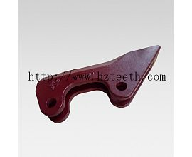 Ground engineering machinery parts 112-2489 Side Cutter for Caterpillar E320 excavator